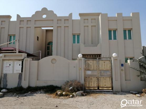 4+2 bedrooms standalone villa for family only at al khor near ccq college