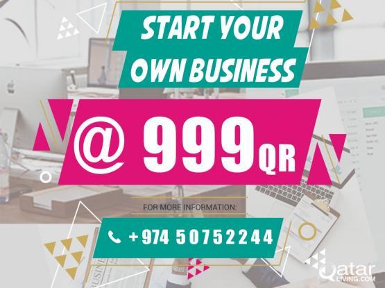 Start business activities