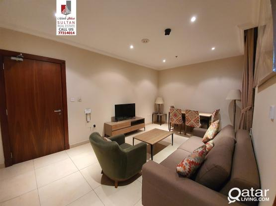 fully furnished in Doha jadeeda + 1 month free