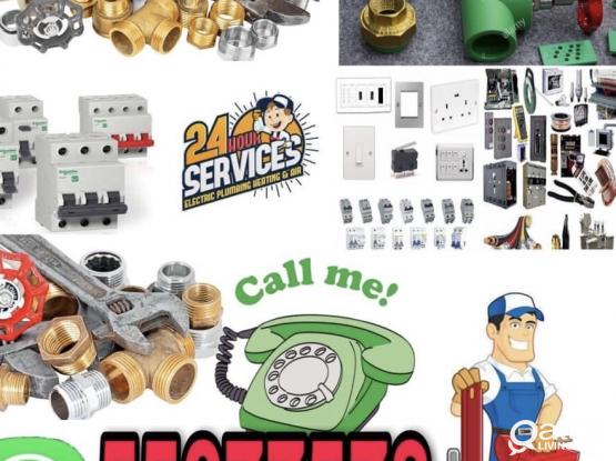 Electric.plumbing.carpentar.and paint work. 24 hours Service please call me any time