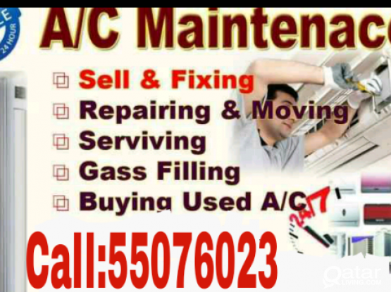 A/C Sale (Low price) Servicing, Repairing, Gass