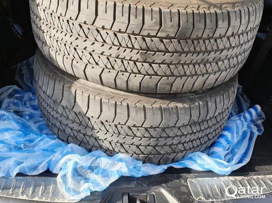 2 tires Dueler