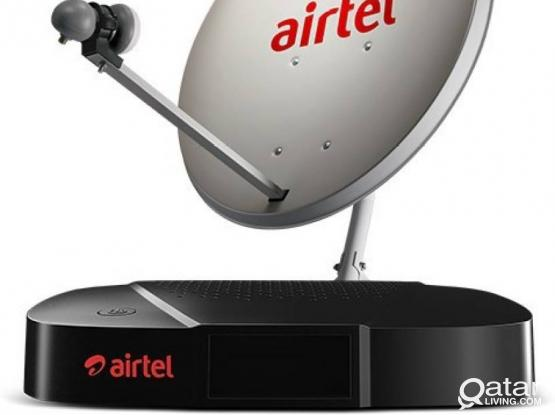 All kinds of satellites dish receiver with Airtel hd receiver sale installation whatsapp 33083167
