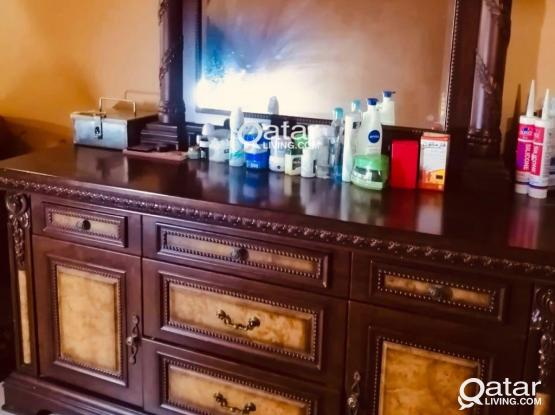 side drawers & Dressing table