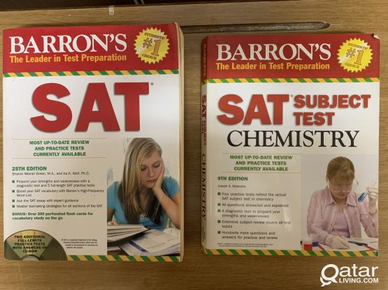 Used SAT and Physics book for sale