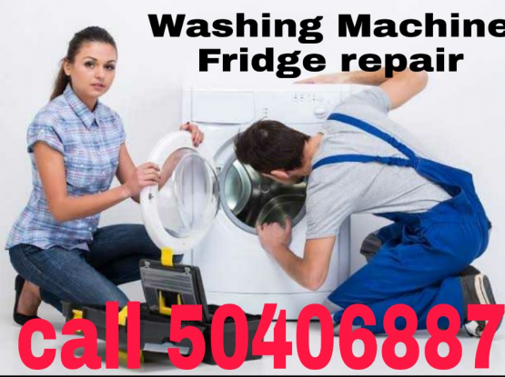 (50406887) Washing machine fridge repair