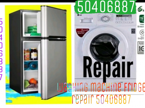 .50406887 Washing machine fridge repair