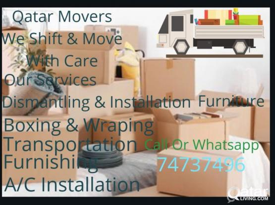 Professional Moving Service at A Reasonable price . Call 74737496