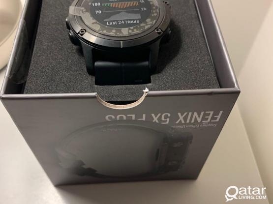 Garmin Fenix 5X Plus Multi Sport Watch Brand New