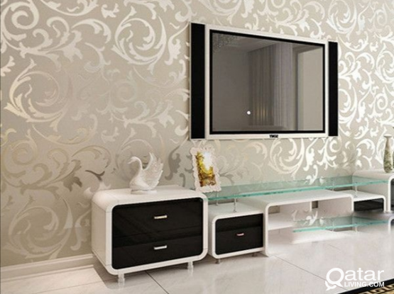 We have all decor- Wallpaper, Curtains, Carpets, Blinds at reasonable cost. Please contact 33159017
