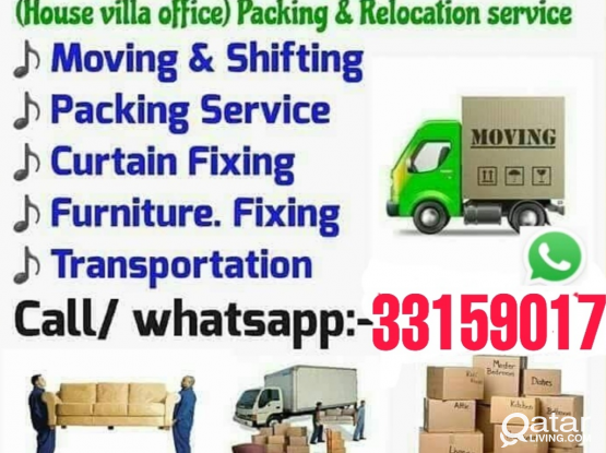 Doha movers and packers call 33159017