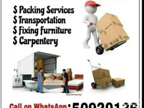 Movers and packers. Please contact me 50920136