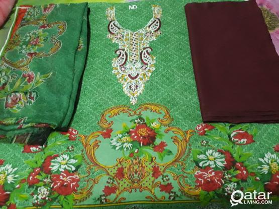 Pakistani Embroided Lawn Dresses