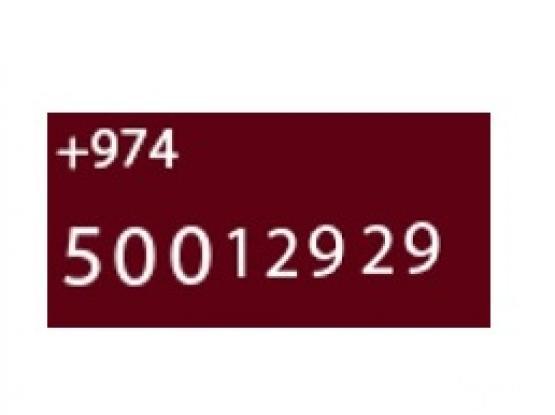 Special OOREDOO Number 50012929