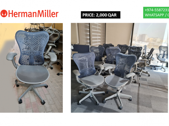 For sale office chairs Harmen Miller with very good condition and small meeting Tables all USA MADE