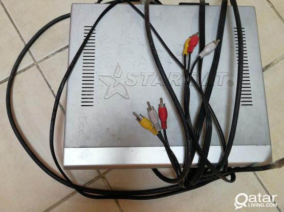 satellite camera & receiver qr10