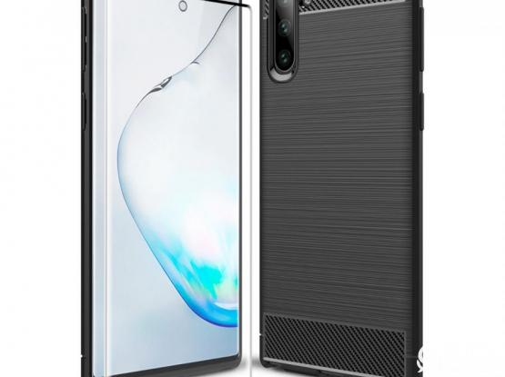Brand new original OLIXAR SENTINEL case AND Glass Screen protector for NOTE 10