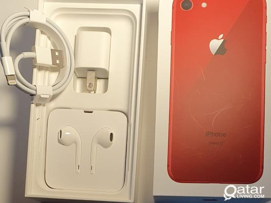 Iphone 8 RED 256 GB (in Box) NEW