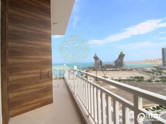 BILLS INCLUDED: Furnished 2BR Apt in Lusail + 2 months free