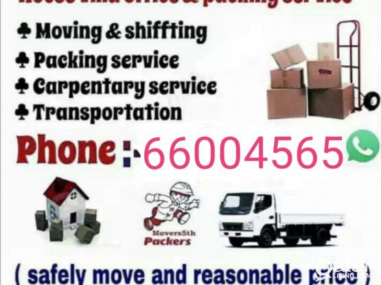moving..shifting..Carpenter..packing.. transportation service.. Call me-66004565