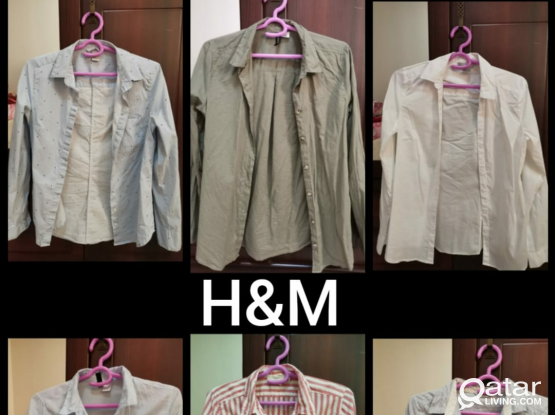 H&M (used) Shirts/Trousers for Sale - for Women