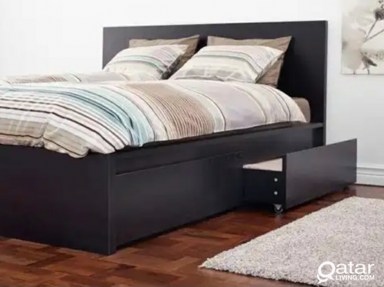 For sale Carbed and king bed from IKEA