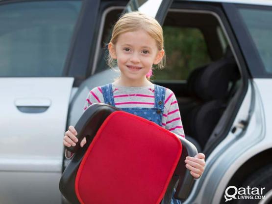 Backless Booster Car Seat for Older Children
