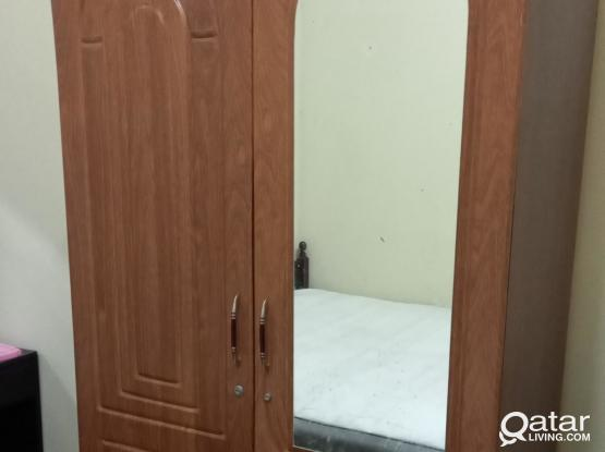 3 & 2 Door Cupboards, small cupboard, Dining table, TV table, bed for sale