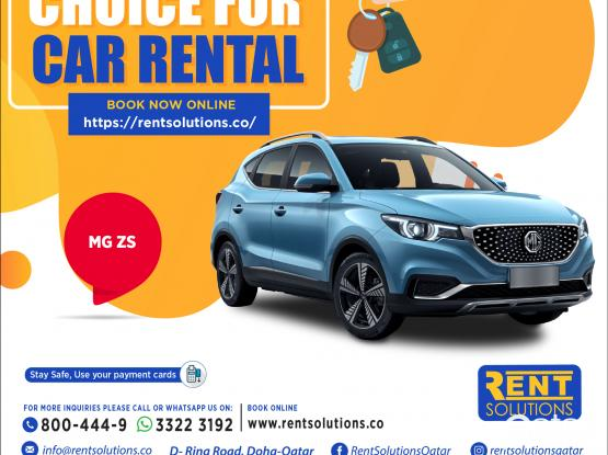 MG ZS Daily 160 QR - Monthly 2400 QR