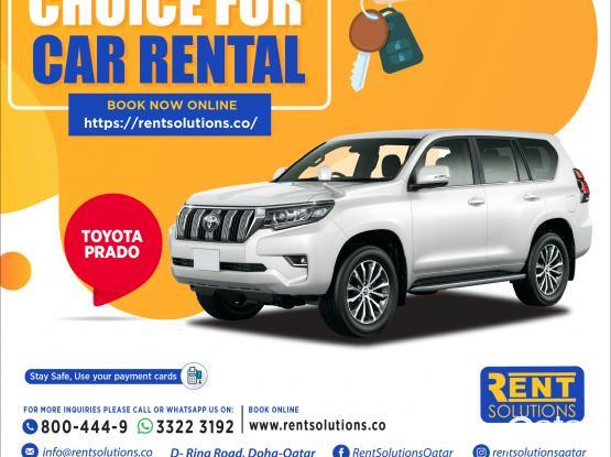 Toyota Prado Daily 285 Qr - Monthly 5550 QR