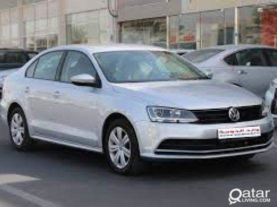 Rent a car for monthly  Volkswagen jetta  (