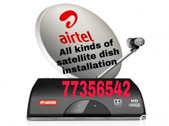 All kinds of dish installation, sale. Please call 77356542