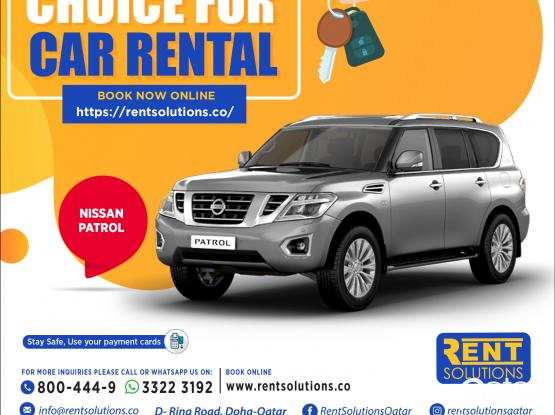 Nissan Patrol Daily 405 QR - Monthly 7050 QR