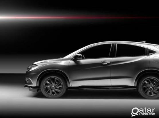 Honda HR-V 2020 Model for Rent -Brand New