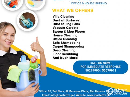 ALL KIND OF CLEANING SERVICES AT VERY LOW PRICE COMPARE TO OTHERS