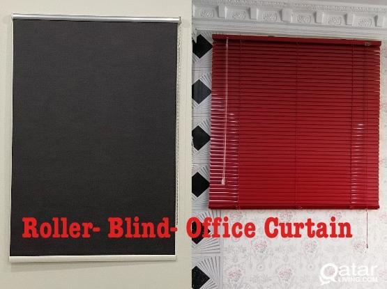 Roller- Blind- Vertical- Blackout