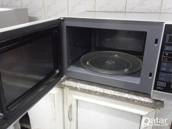 Washing machine, Fridge Small/ Big and microwave oven SHARP and electric stove for sale