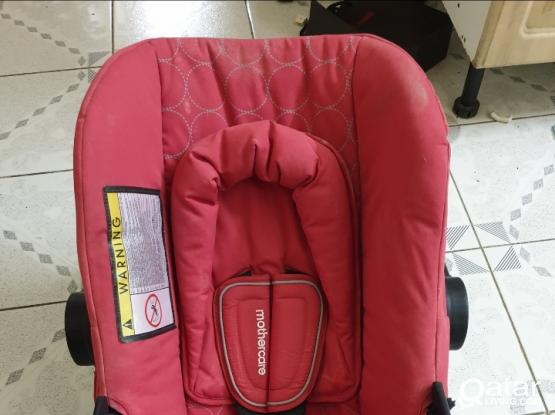 Baby car seats 2 Mothercare and Nanio driver for both 550 Qr