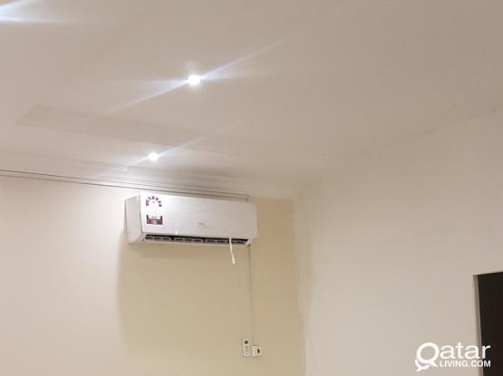 1bedroom kitchen bathroom include electric and water 1600 qr abuhamur