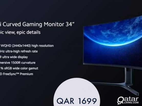 Xiaomi Curved Gaming Monitor 34 inch