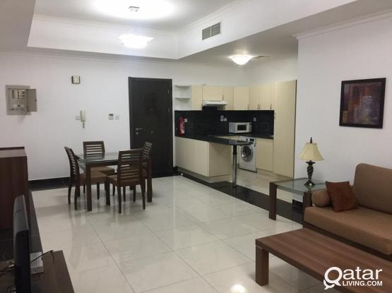 * * * Furnished 1 BR Flat for QAR. 4000 * * *