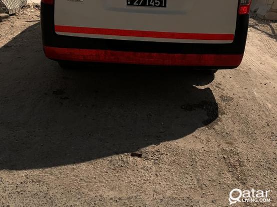 Toyota  Nissan Urvan Hi-Ace 2014