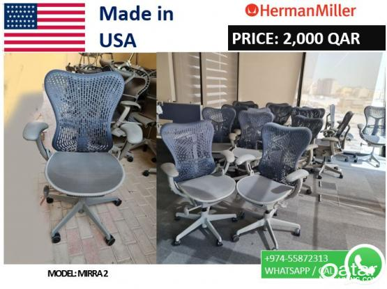 Herman Miller Chair Mirra-2  Made in USA