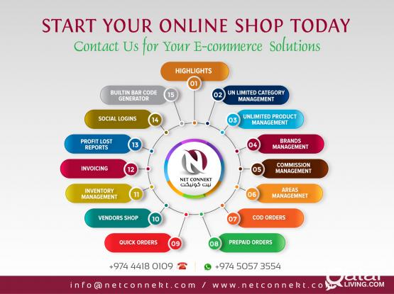 Get Ecommerce Websites with all latest features @ Competitive Prices