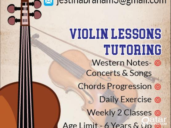 Providing Violin Classes / Online or Home Classes