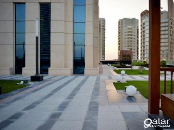 3 Months Free ! Brand New 175 Sqm Office Space Available in Lusail with Sea View