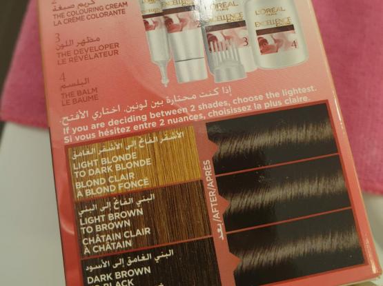 Unopened Black Hair dye