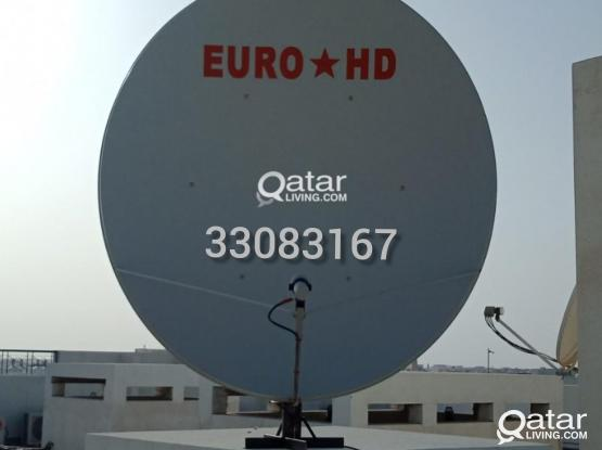 ALL KINDS OF SATELLITES DISH RECEIVER SALE INSTALLATION WITH AIRTEL  33083167