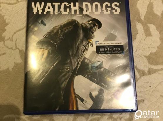 Popular PS4 game Watch dogs