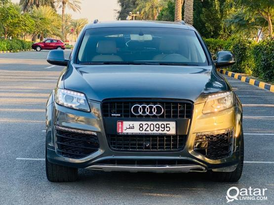 Audi Q7 S-Line 2015